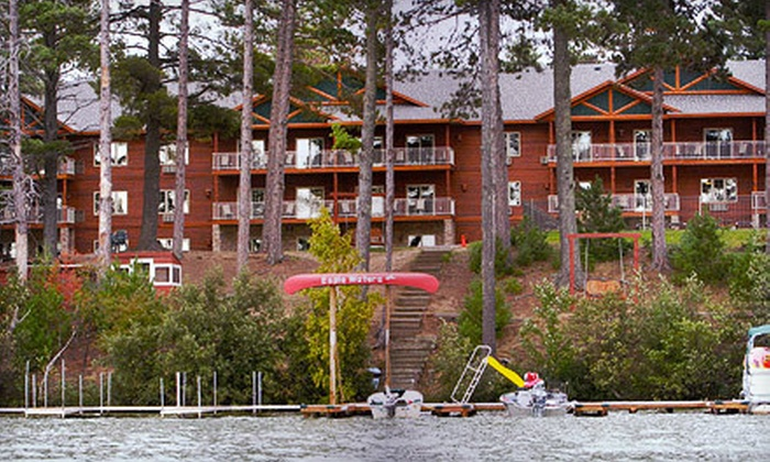 Eagle Waters Resort - Suamico: One- or Two-Night Stay for Two with Champagne Brunch or Drink Tickets at Eagle Waters Resort in Eagle River (Up to 58% Off)