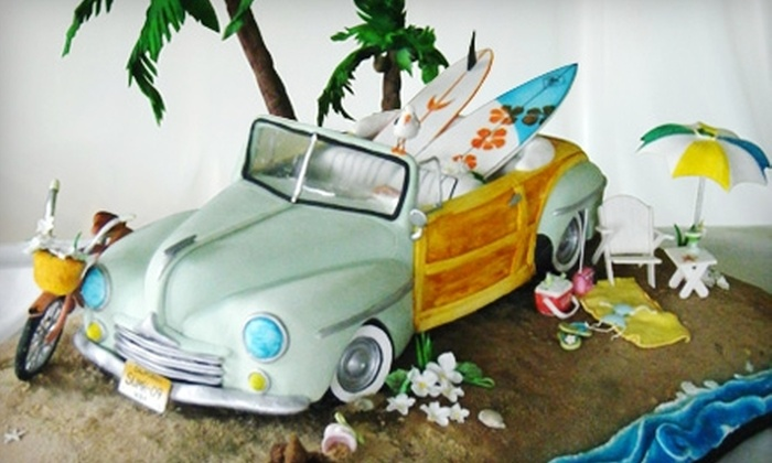 """Black Sheep Custom Cakes - Convention Center Plaza: $35 for Two Tickets to Black Sheep Custom Cakes' """"Icing on the Cake"""" Benefit Exhibition at Sheraton Overland Park Hotel (Up to $80 Value)"""