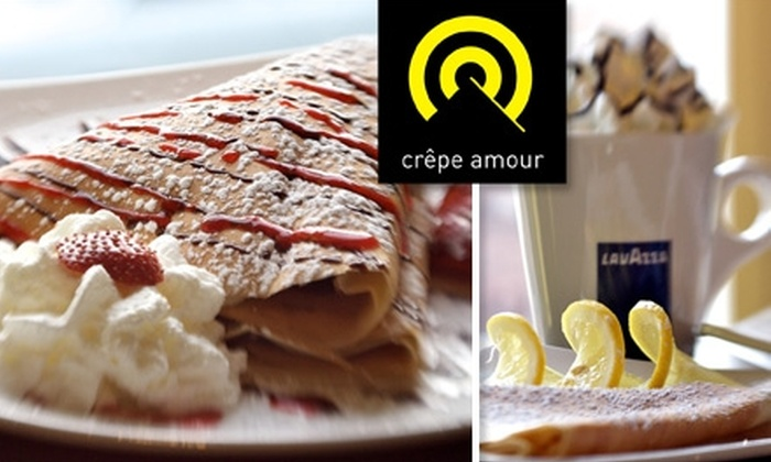 Crêpe Amour - Georgetown: $10 for $20 Worth of Crêpes and Café Blends at Crêpe Amour