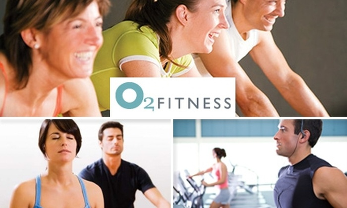 O2 Fitness - Multiple Locations: $20 for a One-Month Pass and Personal Assessment at O2 Fitness