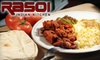 $10 for Indian Fare at Rasoi Indian Kitchen