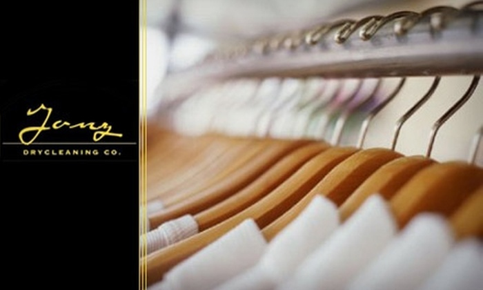 Janz Drycleaning - Armenian Town: $15 for $35 Worth of In-Store or Delivery Dry Cleaning from Janz Drycleaning