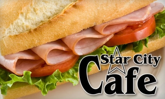 Star City Cafe - Miamisburg: $5 for $10 Worth of Sandwiches, Soups, Homemade Sweets, and More at Star City Cafe in Miamisburg