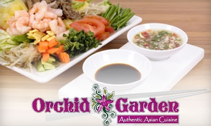 Orchid Garden - Westover: $10 for $20 Worth of Thai Lunch Fare at Orchid Garden