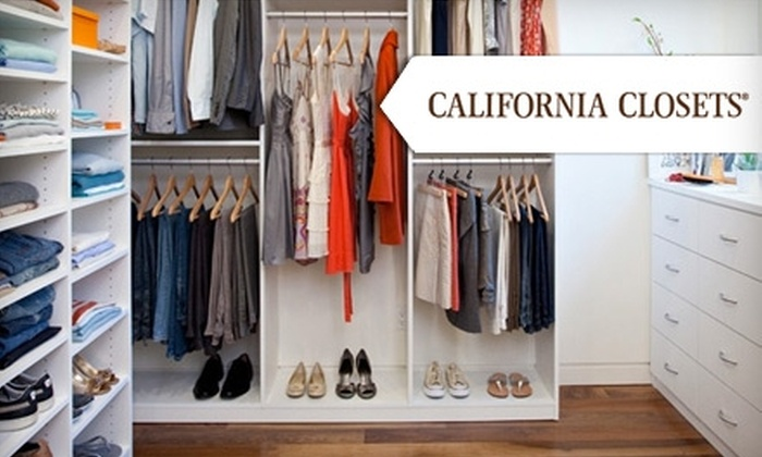 California closets coupons discounts