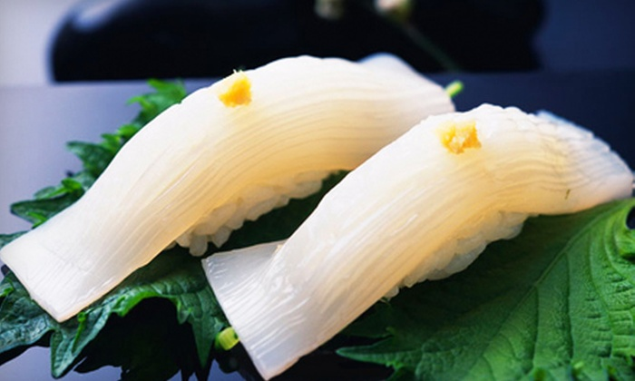 Aqua House - Broad Channel: $39 for a Three-Course Japanese Dinner with Wine for Two at Aqua House in Broad Channel (Up to $104.90 Value)