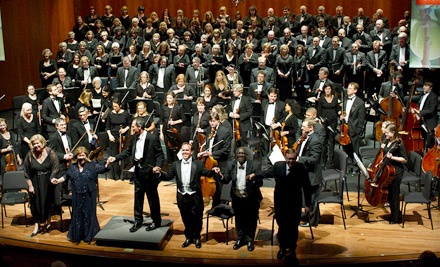 Georgia Symphony Orchestra at Murray Arts Center on Oct. 1, Oct. 2, Nov. 12 or Nov. 13: Rear-Orchestra Seating - Georgia Symphony Orchestra in Kennesaw