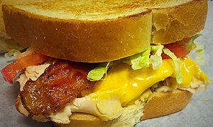 Bison Witches Bar and Deli: Deli Sandwiches and Bread-Bowl Soups for Two or Four at Bison Witches Bar and Deli (Up to 43% Off)
