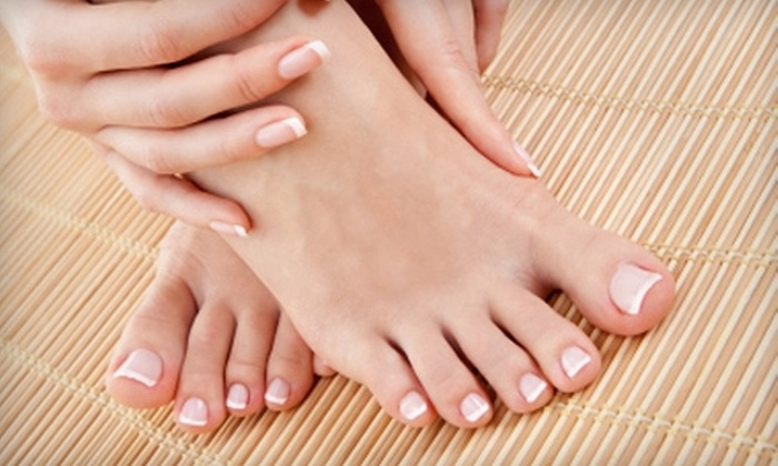 Beneath the Surface - Madison: $45 for a Spa Manicure and Pedicure at Beneath the Surface in Madison ($95 Value)