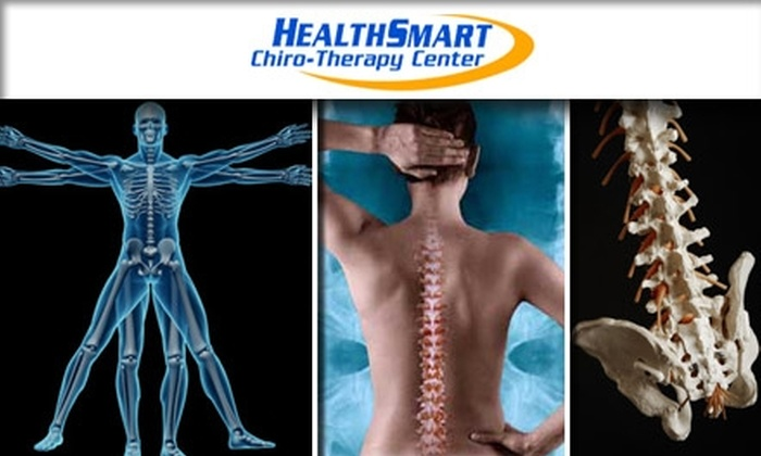 HealthSmart Chiropractic  - Central Scottsdale: $35 for Consultation, Examination, Adjustment, and 30-Minute Therapeutic Massage at HealthSmart Chiro-Therapy Center ($230 Value)