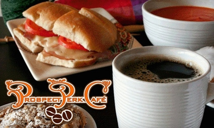 Prospect Perk Cafe - Prospect Heights: $10 for $20 Worth of Café Fare and Organic Coffee at Prospect Perk Cafe
