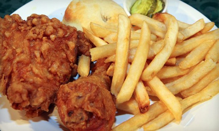 Honey's Kettle Fried Chicken - Downtown Culver City: Chicken Meal for Two or Four at Honey's Kettle Fried Chicken