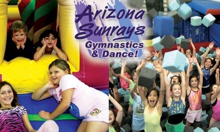 Arizona Sunrays Gymnastics and Dance - Paradise Valley: $10 Admission to Kids Night Out at Arizona Sunrays Gymnastics and Dance ($25 Value)