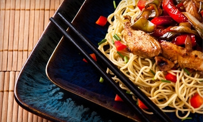 Asian Wok 'n' Roll - Multiple Locations: $10 for $20 Worth of Asian Cuisine at Asian Wok 'n' Roll in Mississauga
