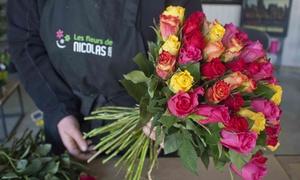 Les fleurs de Nicolas: 10 euros de réduction sur tout le site Les Fleurs de Nicolas pour seulement 1 €