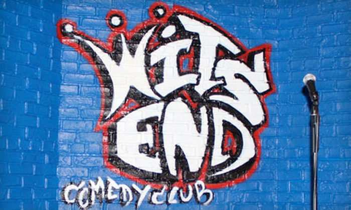 Wits End Comedy Club - West Central Westminster: $20 for Two Comedy Tickets, One Appetizer, and Two Tickets to a Future Show at Wits End Comedy Club in Westminster (Up to $58.25 Value)