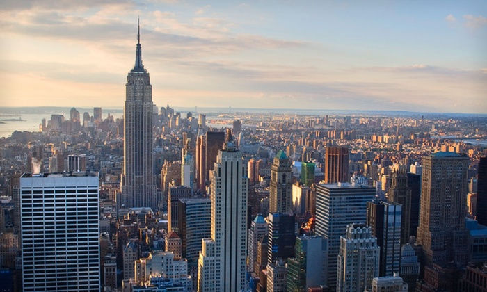 Ameritania Hotel New York - Clinton: $180 for a One-Night Stay for Two in a Deluxe King Room at Ameritania Hotel New York