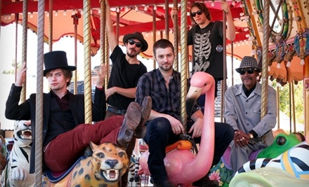 Live Nation: 100 Monkeys at House of Blues on Fri., July 8 at 7PM: Section General Admission Ticket - 100 Monkeys at House of Blues in Cleveland