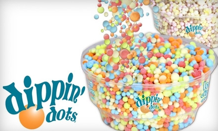 Dippin' Dots - Beavercreek: $5 for $10 Worth of Space-Age Ice Cream at Dippin' Dots