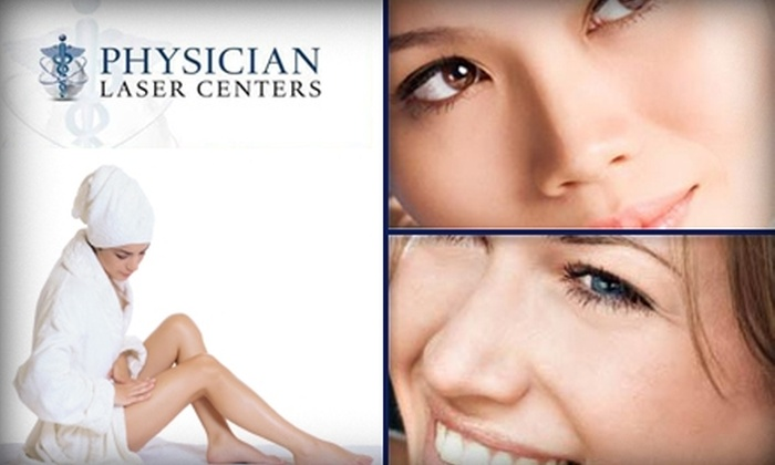 Physician Laser Centers - Multiple Locations: $99 for Laser Hair Removal on Any Two Areas at Physician Laser Centers ($700 Value)