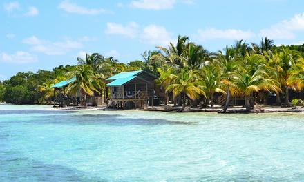 4- or 7-Night Stay for Two with Meals and Boat Transfer at Isla Marisol Resort in Belize