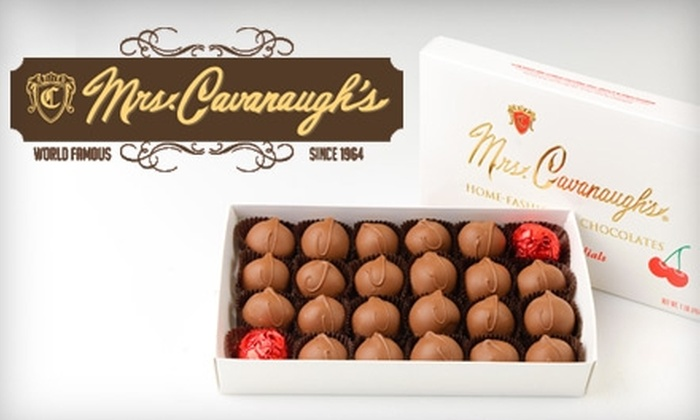 Mrs. Cavanaugh's - Multiple Locations: $12 for $25 Worth of Handmade Chocolates and Sweets at Mrs. Cavanaugh's in North Salt Lake