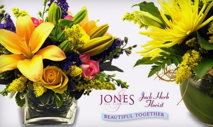 Jones the Florist - Sycamore: $20 for $45 Worth of Fresh Flower Arrangements at Jones the Florist