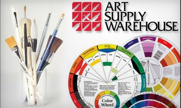Art Supply Warehouse - Westminster: $20 for $40 Worth of Art Supplies, Tools, and Merchandise at Art Supply Warehouse