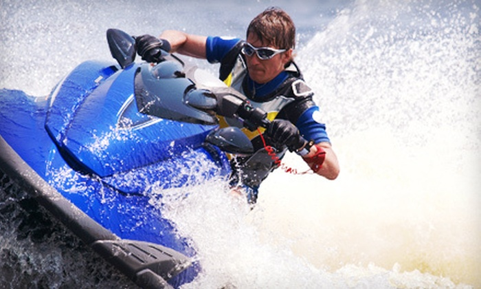 Rockaway Jet Ski - Rockaway Beach, NYC: Half-Hour Jet-Ski Rental or Four-Hour Jet-Ski Tour of New York City Harbor for Two from Rockaway Jet Ski (Up to 53% Off)