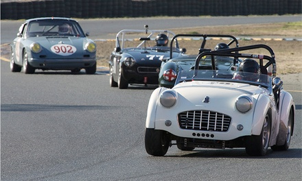 Classic Sports Racing Group's 3rd Annual David Love Memorial Races at Sonoma Raceway on April 2-3, 2016 with Triumph as the Featured Marque (Up to 52% Off)