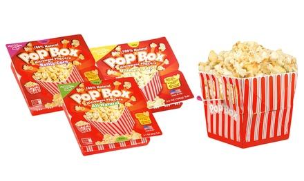 Pop Box Microwave Popcorn Groupon Goods