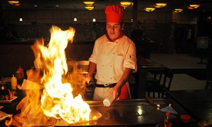 Yue-Sun Restaurant: Sushi and Japanese Hibachi Steaks at Yue-Sun Restaurant (Up to 50% Off). Three Options Available.