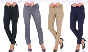 Women's Stretchy Pull On Dress Pants