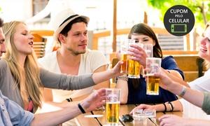 Caçapas Snooker Bar: Caçapas Snooker Bar - Itapema: 2 ou 4 cervejas + 1 ou 2 horas de sinuca (classic ou oficial) + 1 porção