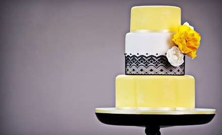 3-Tiered Wedding Cake that Serves 97 (a $275 value) - Baby Cakes by Marcy in El Paso