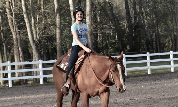 The Barn Life - Virginia Beach: $30 for $50 Worth of Horseback Riding — Cedar Hall Farm