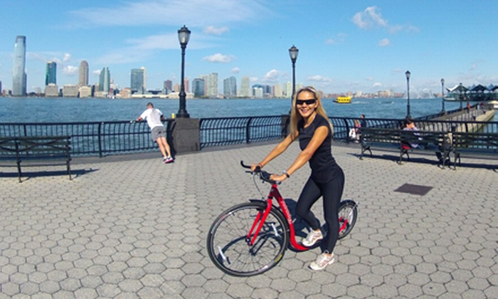 Fitness Tours of NY - Manhattan: Footbiking Fitness Tour for One, Two, or Six from Fitness Tours of NY (Up to 56% Off)