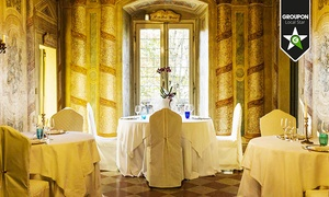 Ristorante Castello Malvezzi: Castello Malvezzi, segnalato Michelin - Menu in 8 portate con calici di vino abbinati per 2 persone