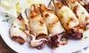 Gran menu pesce, lungomare Anzio
