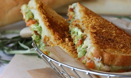 Grilled Cheese Sandwiches and More at Melt Down Grilled Cheese (Up to 47% Off). Two Options Available.