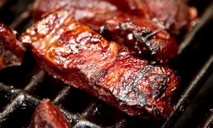 B.T.'s Smokehouse - Fiskdale: Barbecue at B.T.'s Smokehouse (Up to 56% Off). Two Options Available.