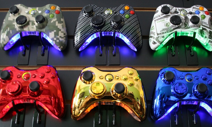 Custom Wireless Xbox 360 Lighted Modded Controller: $29.99 for a Custom Wireless Xbox 360 Lighted Modded Controller from Ms4R Modz ($99 List Price). Free Shipping.