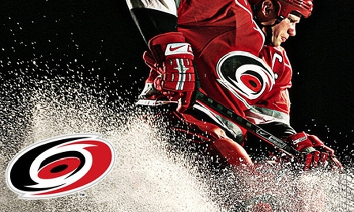 Carolina Hurricanes - Southwest Raleigh: $25 for One Balcony Premier Ticket ($45 Value) or $45 for One Lower Level North or South Ticket ($80 Value) to a Carolina Hurricanes Hockey Game