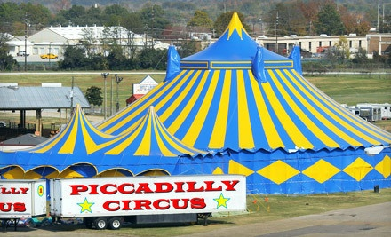 Piccadilly Circus at the Putnam Co Fairgrounds on Thu., Jan. 26 at 4:30PM: General Admission - Piccadilly Circus in East Palatka