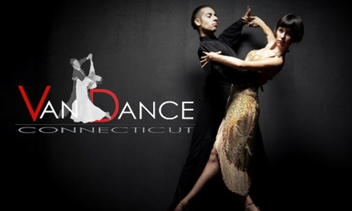 Van Dance Connecticut - West Hartford: $25 for Two Private Lessons, Two Group Lessons, and One Practice Session at Van Dance Connecticut in West Hartford
