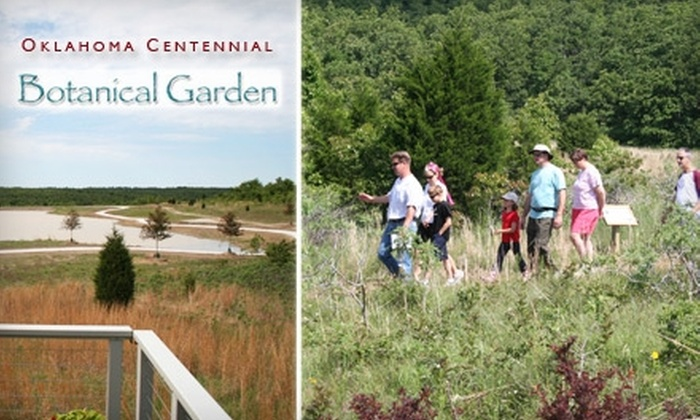 Oklahoma Centennial Botanical Garden - Southeast Osage: $20 for a Household Membership to the Oklahoma Centennial Botanical Garden ($50 Value)