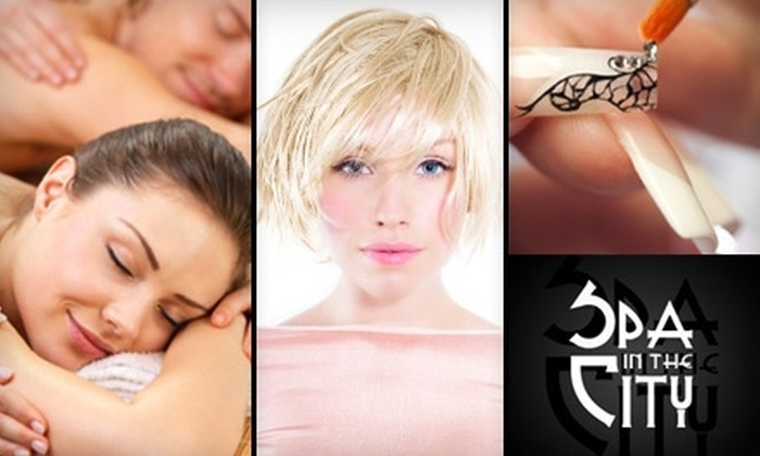 Spa in the City - Seattle Hill-Silver Firs: $28 Mani-Pedi or $49 Hot-Stone Massage with Scalp and Foot Treatment at Spa in the City