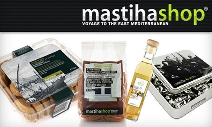 mastihashop - Lower East Side: $25 for $50 Worth of Mediterranean Goods at mastihashop