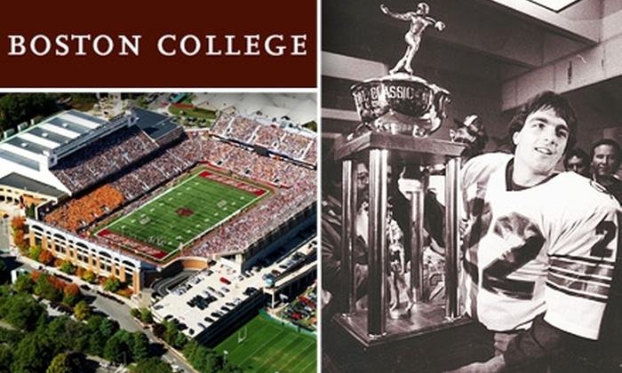 Boston College  - Boston: $20 Football Ticket to Boston College vs. North Carolina on November 21 ($37 Value)