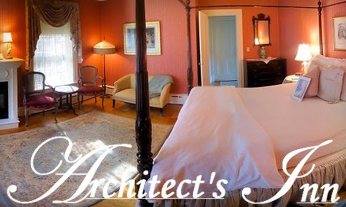 Architect's Inn Bed & Breakfast - Newport: $199 for a One-Night Stay at Architect's Inn Bed & Breakfast